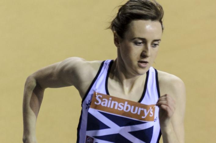Laura Muir running