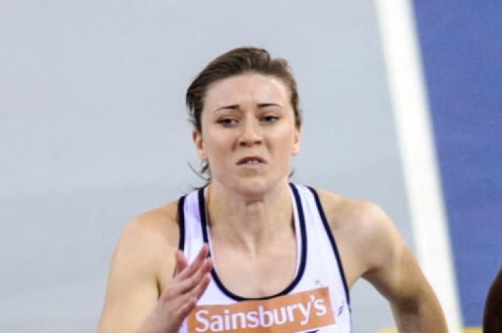 Libby Clegg running in Kukri kit