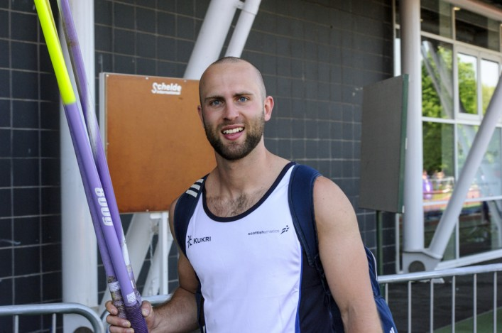 James Campbell javelin thrower