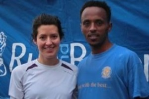 Morag MacLarty and Tewolde Mengiste