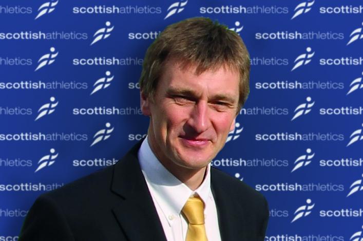 Nigel Holl, CEO of Scottish Athletics