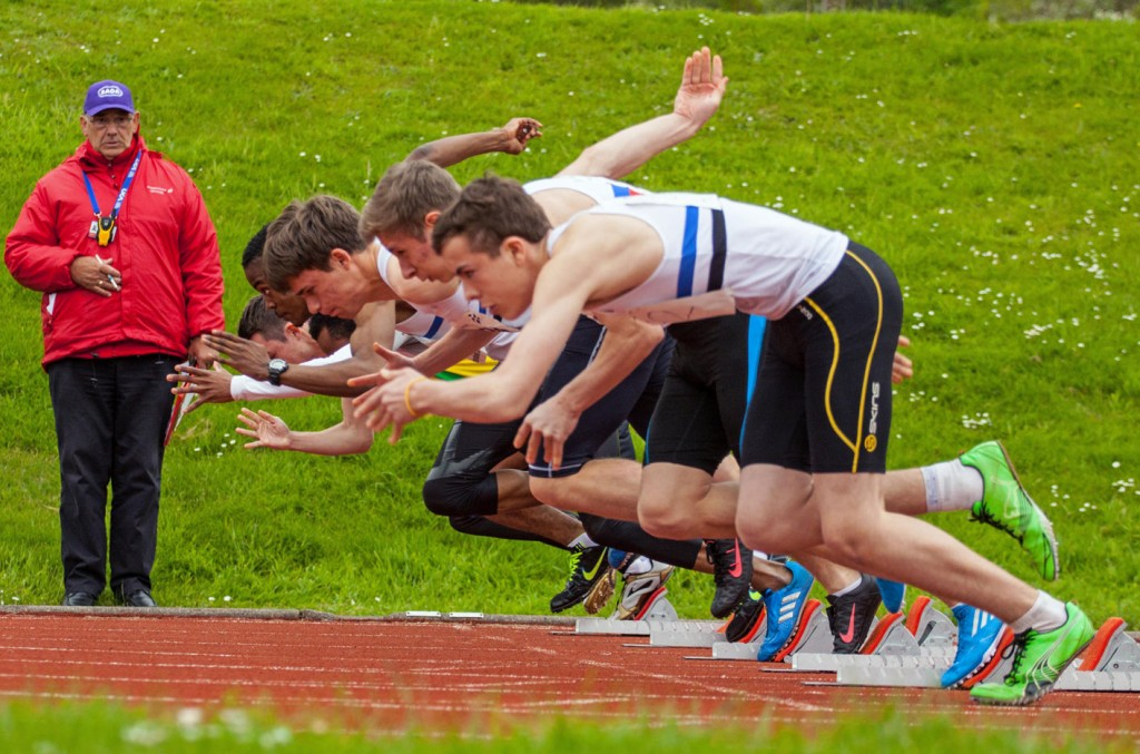 Sprinters start at District Championships