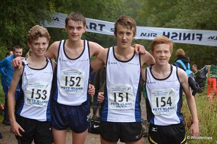 Scotland's Junior Home International Hill Running squad