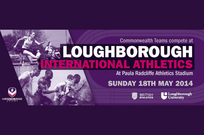 Banner for Loughboroough International Athletics Meet