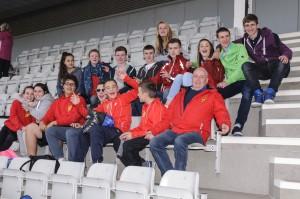 Stornoway RAC athletes at Aberdeen