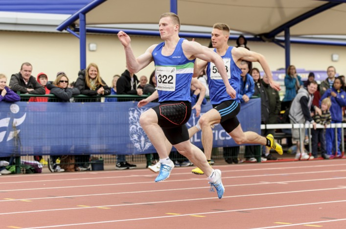 Ross Maxwell wins a sprint in West Districts at Kilmarnock