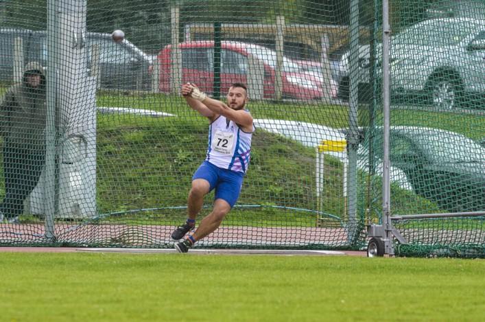 Mark Dry wins Scottish Seniors 2014 with hammer throw