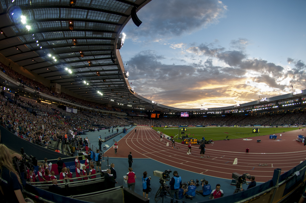 Hampden during the Games