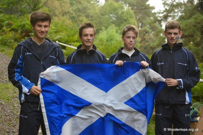 Scots win gold