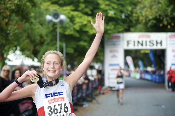 Megan Crawford win 2013 Loch Ness Marathon