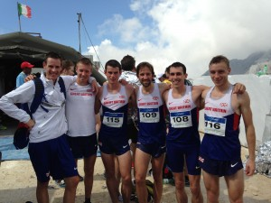 GB hill runners in Italy Sept 2014