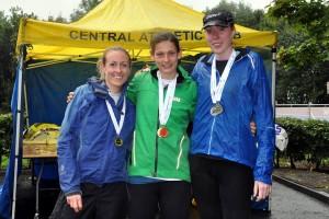 Central AC women at Stirling 10k