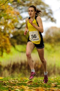 Laura Muir at XC Relays