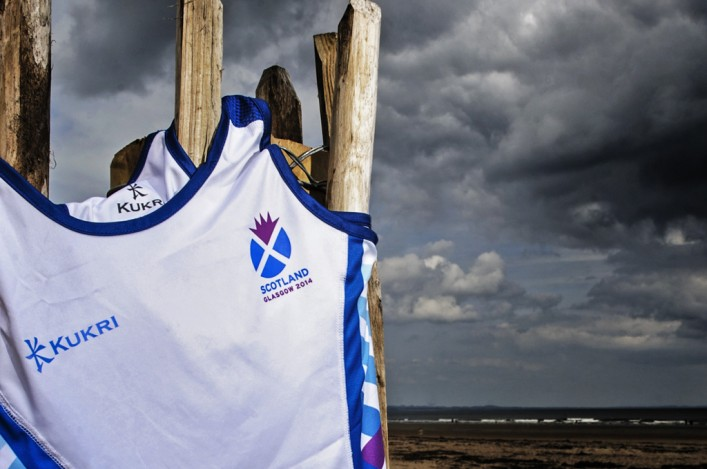 Scotland vest for Glasgow 2014