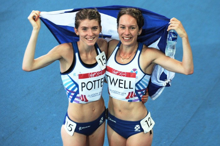 Steph Twell and Beth Potter