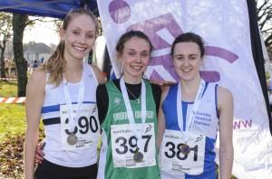 Women's podium Bellahouston 2014