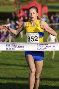 Erin Wallace - U15 champion