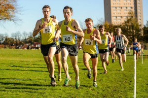 Central men at Bellahouston