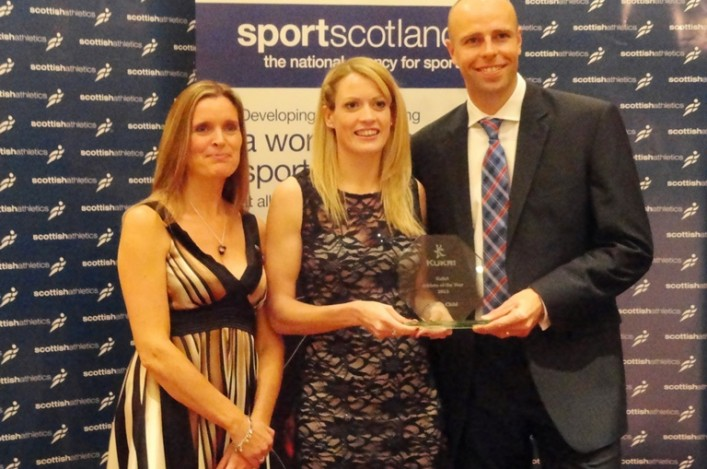 Eilidh Child 2013 Athlete of the Year