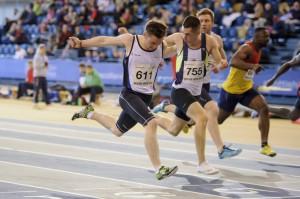 Cameron Tindle wins sprint