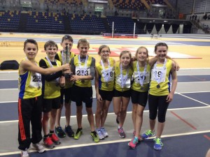 Central AC were on the podium - on a good day for the sport