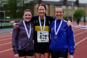 Fiona Matheson: Scottish 10,000m champion - photo by Bobby Gavin