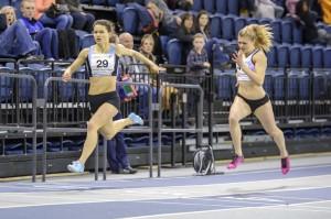 Zoey Clark wins 200m with PB