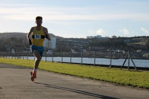 Derek Hawkins: 5-mile course record