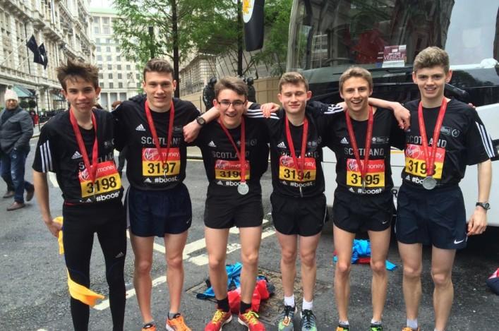 London Mini Marathon Runbalmoral Scottish Athletics