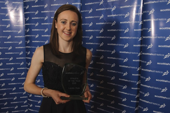 Laura Muir Athlete of the Year 2015