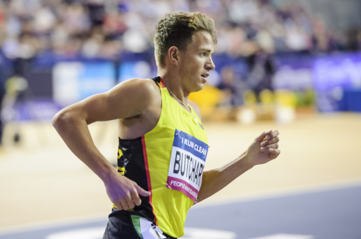 Andrew Butchart in Glasgow 2016