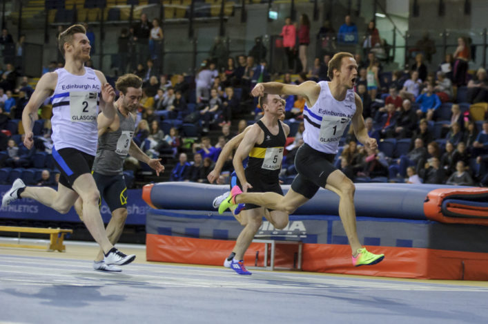 Scottish Athletics National Indoors 2017 January 14th 2017 (C)Bobby Gavin Byline must be used