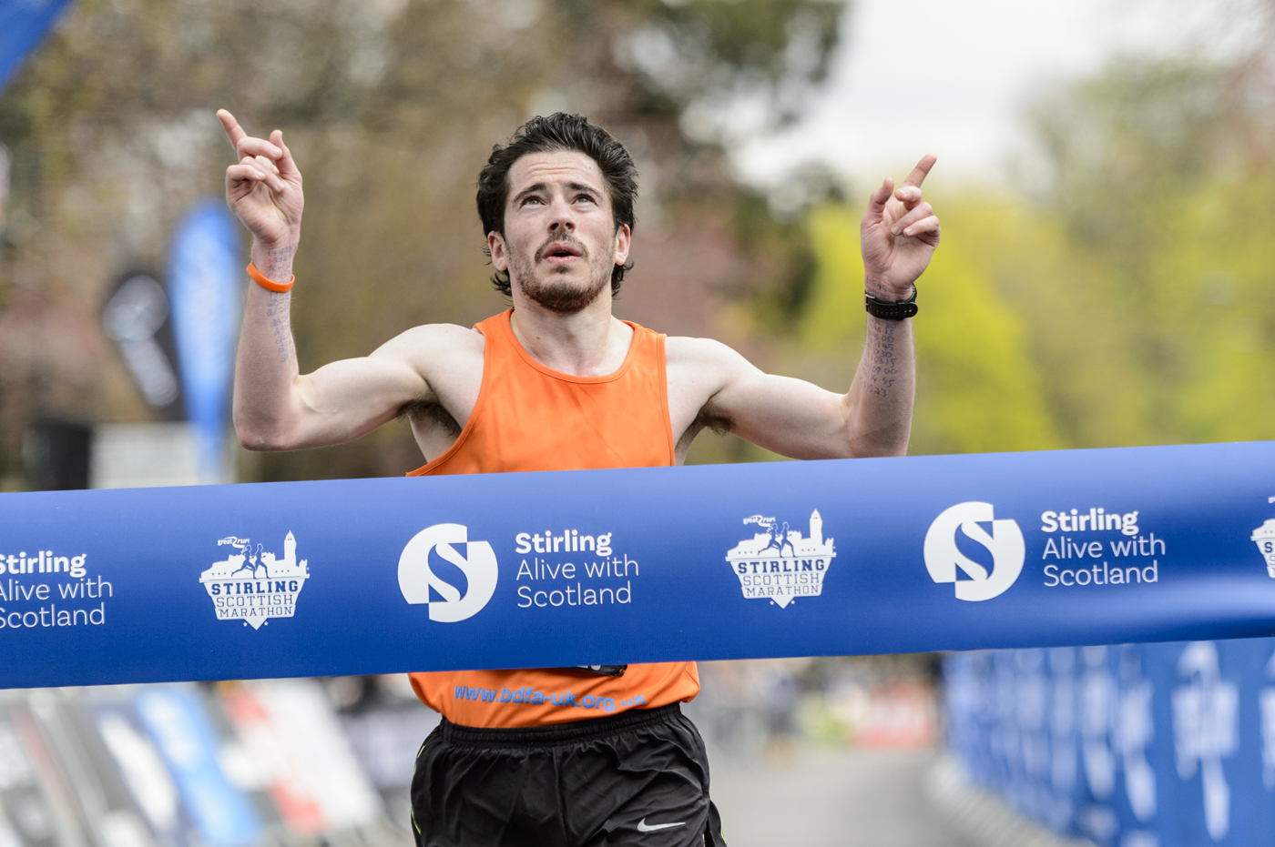 Stirling stages Scottish Marathon Champs