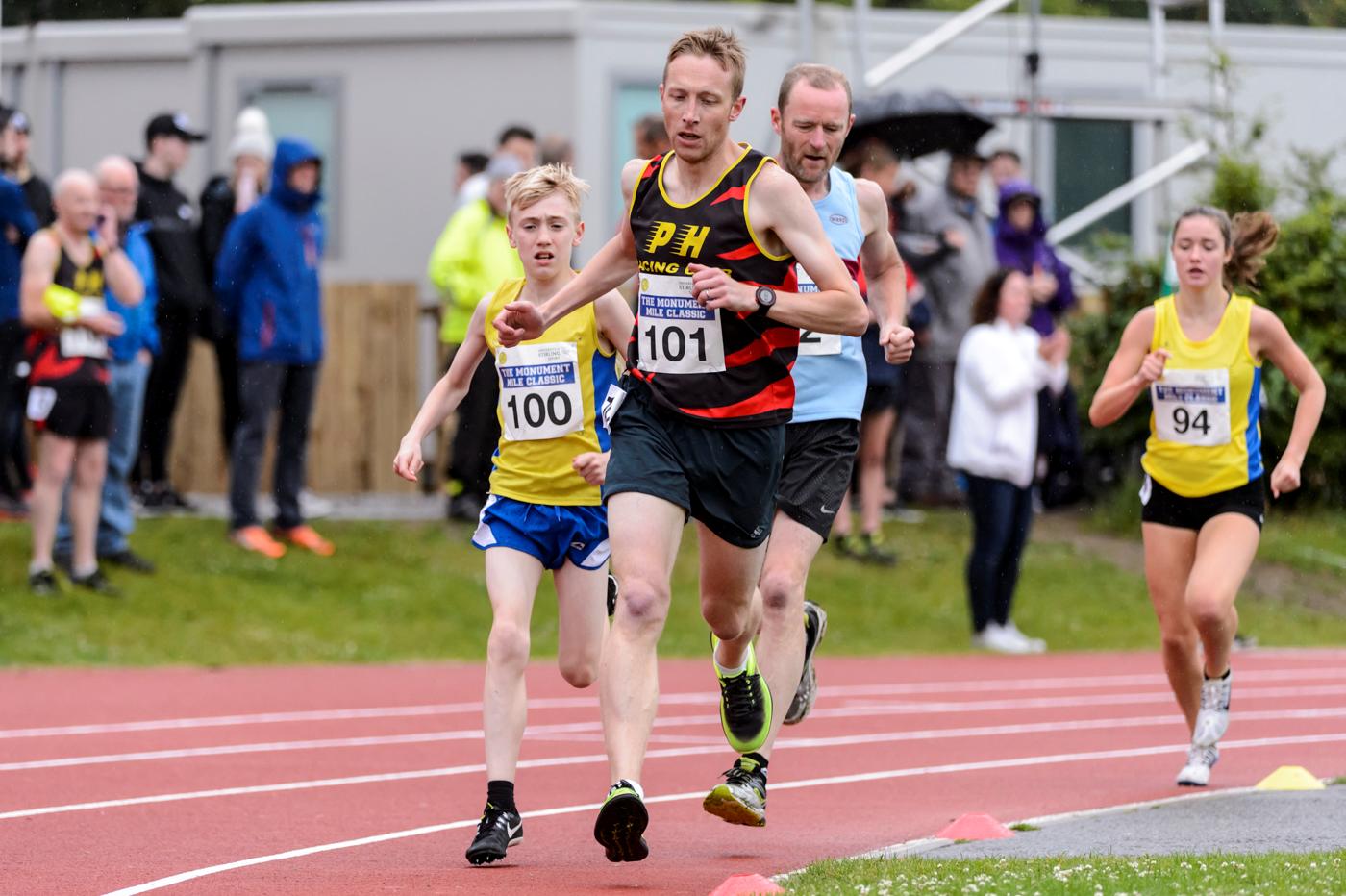 Monument Mile Classic; Equality seminar; Mark Telford - Scottish Athletics
