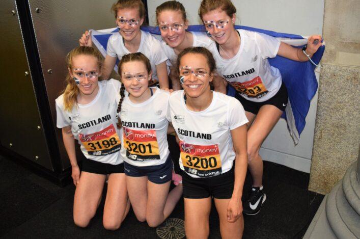 Mini Marathon Team Golds Course Record For Sarah Scottish Athletics