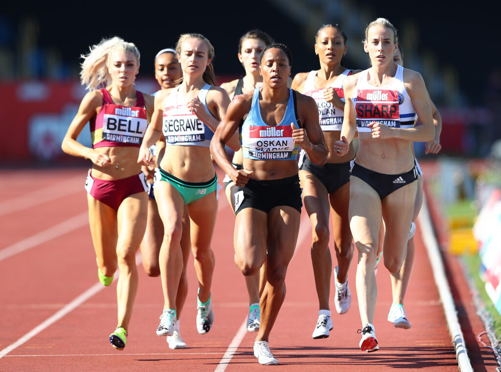 I still believed in myself' - Lynsey Sharp - Scottish Athletics