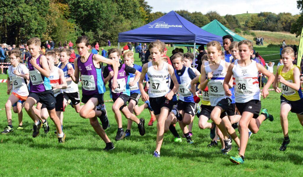 District XC Relays deliver thrills at three venues - Scottish Athletics