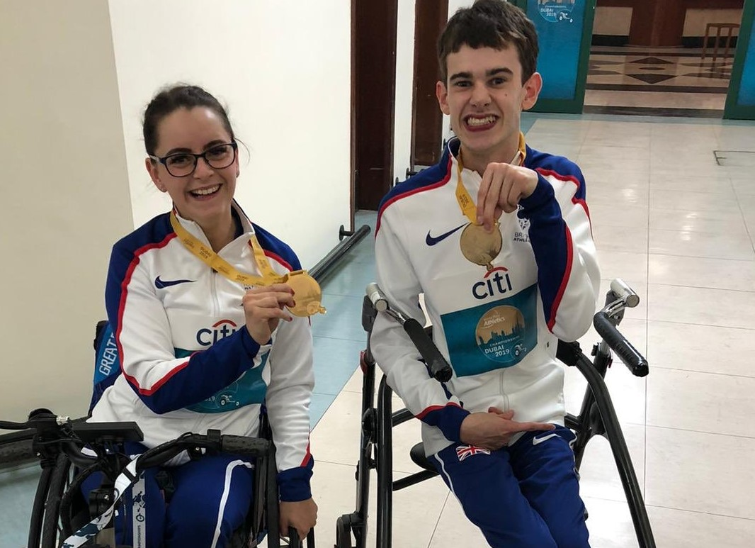 Golds and World Records for Kayleigh and Gavin - Scottish Athletics
