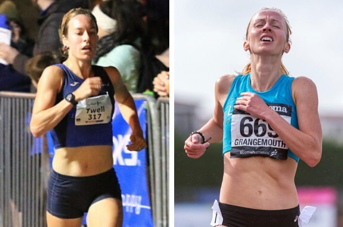 PBs for Steph and Sarah; East League XC; Neil's 50K+ - Scottish Athletics